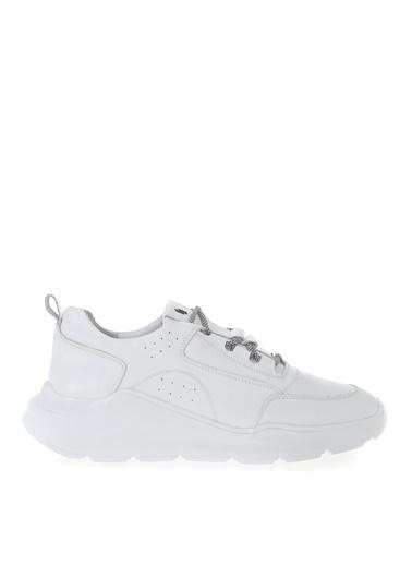 Fabrika Fabrika Beyaz Deri Sneaker Beyaz